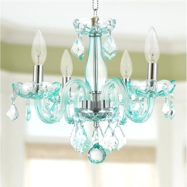 Light: Turquoise Ceiling Light Kids Room Glamorous 4 Full Lead Blue Inside Recent Turquoise Chandelier Lamp Shades (View 6 of 10)