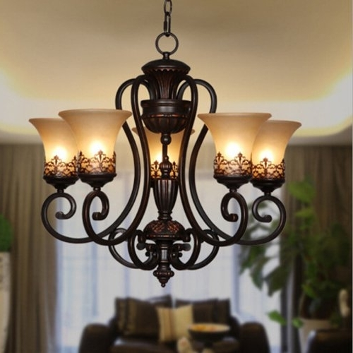 Lightinthebox Island Country Vintage Style Chandeliers Flush Mount With Well Known Vintage Style Chandeliers (View 7 of 10)