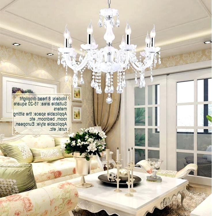Living Room Chandeliers Inside Fashionable Chandelier For Small Living Room Pickasound Co In Chandeliers Plans (View 4 of 10)