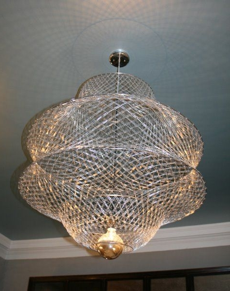 Look! Paperclip Pendant Lamp (View 7 of 10)
