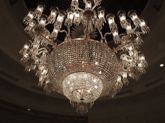 Massive Chandelier With Regard To Famous A Massive Chandelier That Says It All – Picture Of The Oberoi (View 4 of 10)