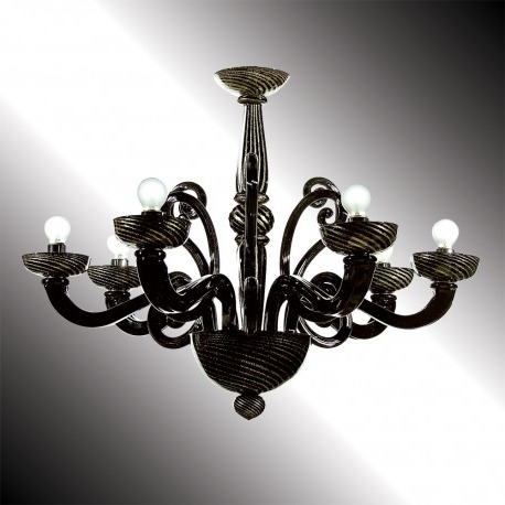 Featured Photo of Black Glass Chandeliers