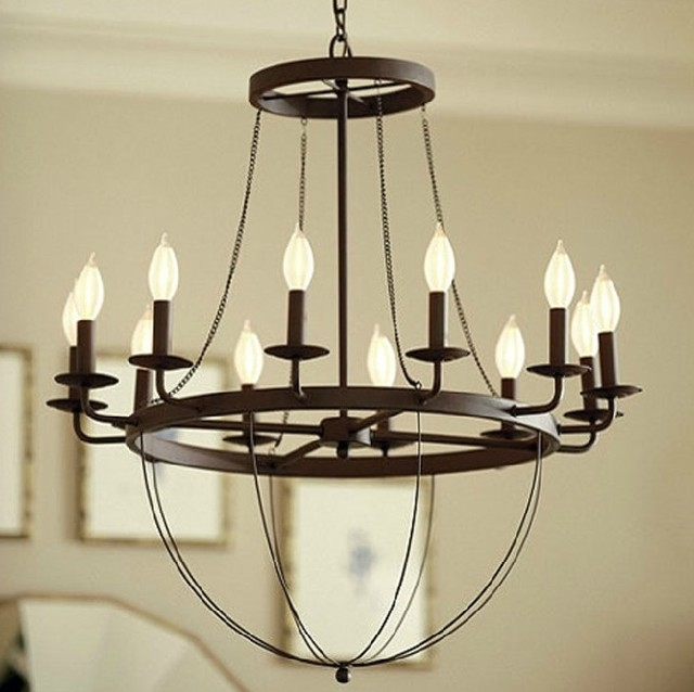 Metal Chandeliers Throughout Recent Chandelier (View 8 of 10)