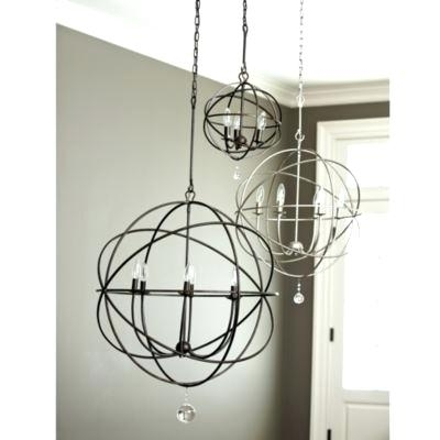 Metal Sphere Chandelier Intended For Popular Orb Chandeliers Also Nice Small Orb Chandelier Orb Chandeliers Good (View 6 of 10)