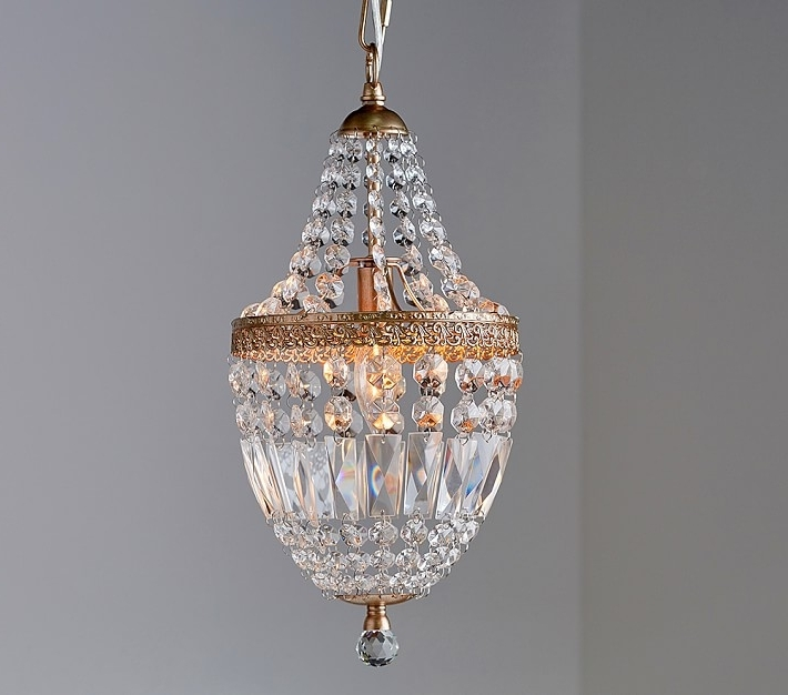 Mini Crystal Chandelier (View 4 of 10)