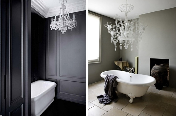 Modern Bathroom Chandeliers Amazing Modern Bathroom Chandeliers Intended For Most Recently Released Modern Bathroom Chandeliers (View 4 of 10)