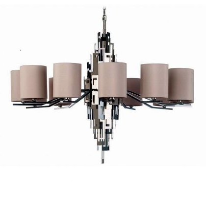 Modern Chandelier Throughout Favorite Modern Chandeliers – Murano Lighting (View 10 of 10)