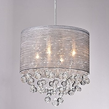 Modern Chandeliers In Most Popular Claxy Ecopower Lighting Metal & Crystal Pendant Lighting Modern (View 4 of 10)