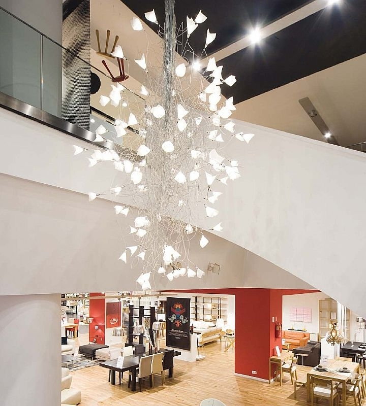 Modern Entry Intended For Famous Large Modern Chandeliers (View 3 of 10)
