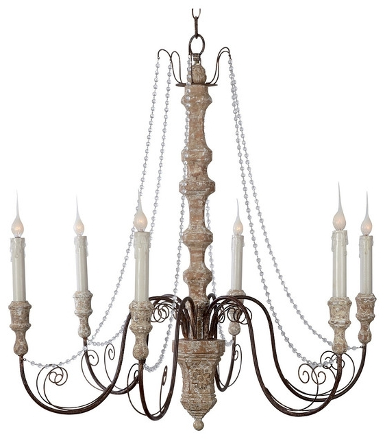 Modern French Country Chandelier In Interesting Chandeliers Style Intended For Most Recently Released French Country Chandeliers (View 8 of 10)