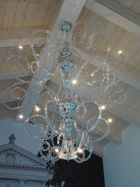 Modern Large Chandelier In Preferred Home Design : Mesmerizing Large Modern Chandelier Stylish (View 7 of 10)