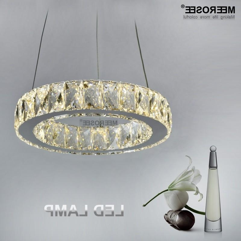 Modern Led 11 Watt Crystal Chandelier Lamp/light/lighting Fixture Intended For Recent Short Chandelier (View 4 of 10)