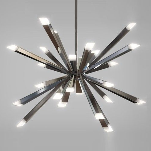 Modern Led Chandelier With Regard To Widely Used 66 Best Lighting Images On Pinterest (View 4 of 10)