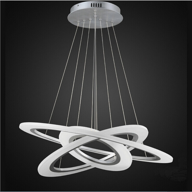 Modern Pendant Chandelier Lighting Throughout Latest Rings Of Jupiter Modern Led Chandelier (View 5 of 10)
