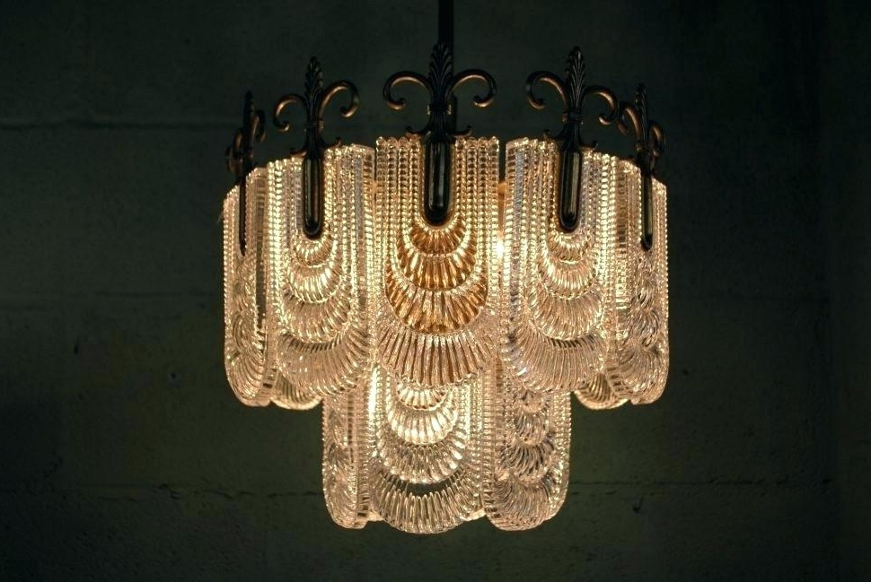 Most Current Art Deco Chandelier Intended For Antique Art Deco Chandelier As Well As Art Light Fixtures (View 2 of 10)