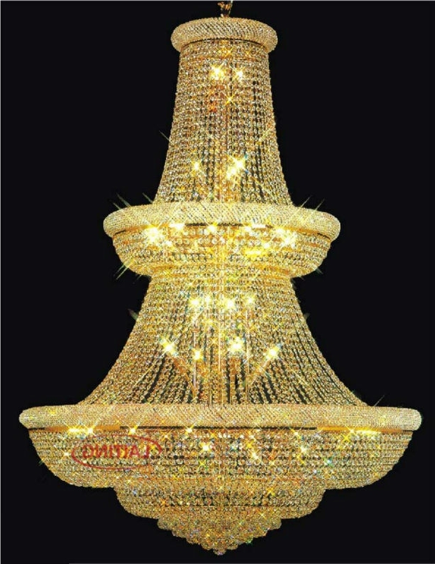 Most Current Big Chandelier,crystal Chandelier With Big Size,cheap Big Chandelier With Big Chandeliers (View 6 of 10)
