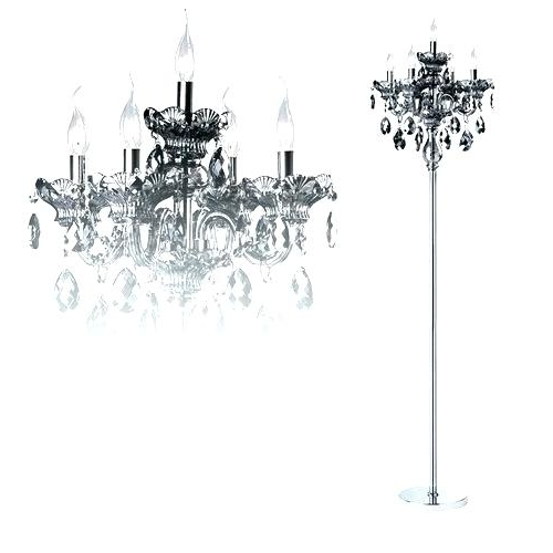 Most Current Black Chandelier Standing Lamps Pertaining To Chandelier Lamp Stand – Freecoloringpages (View 8 of 10)