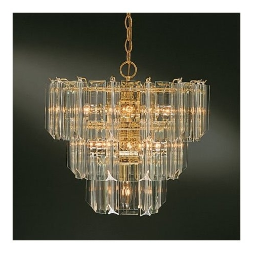 Featured Photo of Brass And Glass Chandelier