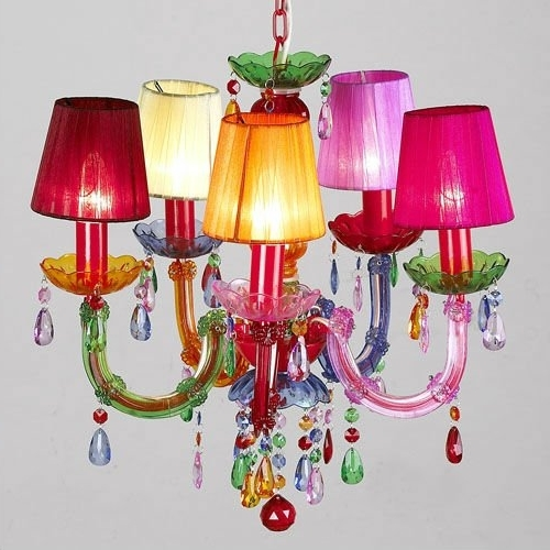 Most Current Coloured Chandeliers Pertaining To Plastic Candelabra Chandelier Lightings Gypsy Colored Pendant Light (View 6 of 10)
