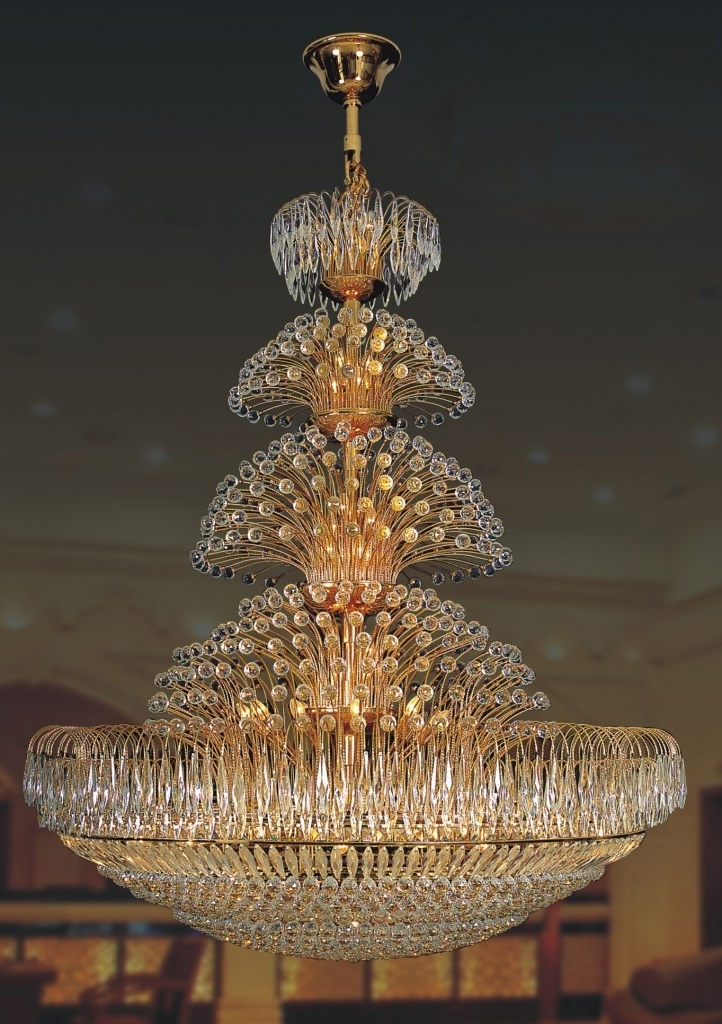 Most Current Giant Huge Chandelier – Closdurocnoir Regarding Huge Chandeliers (View 6 of 10)