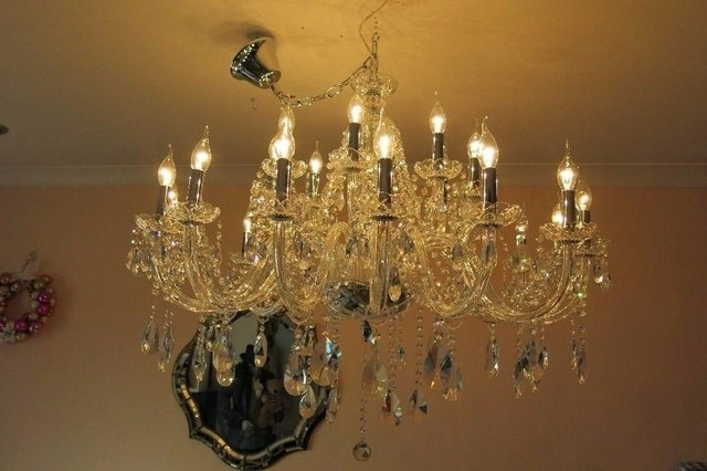 Most Current Lead Crystal Chandeliers – Second Hand Lighting, Buy And Sell In The In Lead Crystal Chandeliers (View 6 of 10)