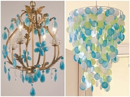 Most Current Turquoise Chandelier Lights Throughout Turquoise Chandelier Light Beads Six Light Cheap Crystal – Kisa (View 5 of 10)
