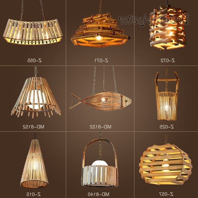 Most Popular Chinese Style Creative Personality Bamboo And Rattan Chandeliers Regarding Chinese Chandelier (View 6 of 10)