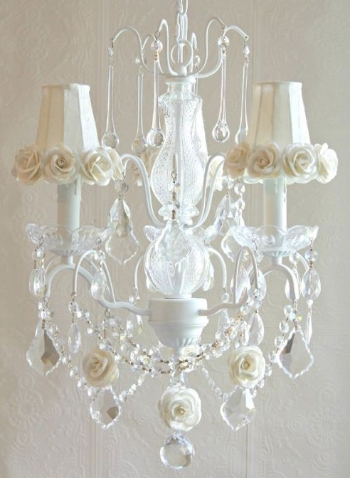 Most Popular Cream Crystal Chandelier (View 5 of 10)