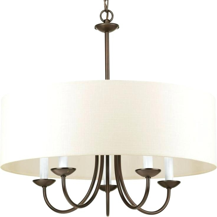 Most Popular Drum Lamp Shades For Chandeliers With Large Barrel Lamp Shade Large Drum Lamp Shades For Chandelier (View 7 of 10)