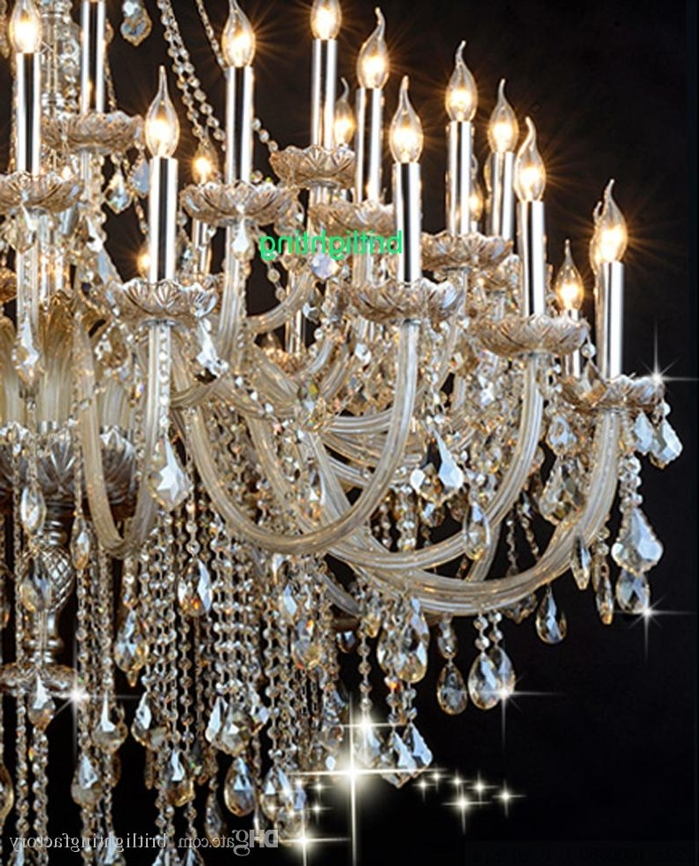 Most Popular Giant Huge Chandelier – Closdurocnoir With Regard To Giant Chandeliers (View 8 of 10)