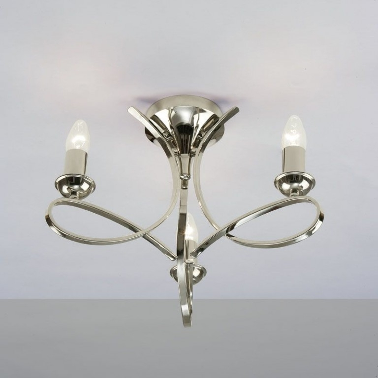 Most Popular Small Chandeliers For Low Ceilings Intended For Low Ceiling Chandeliers – Cotterell & Co (View 4 of 10)