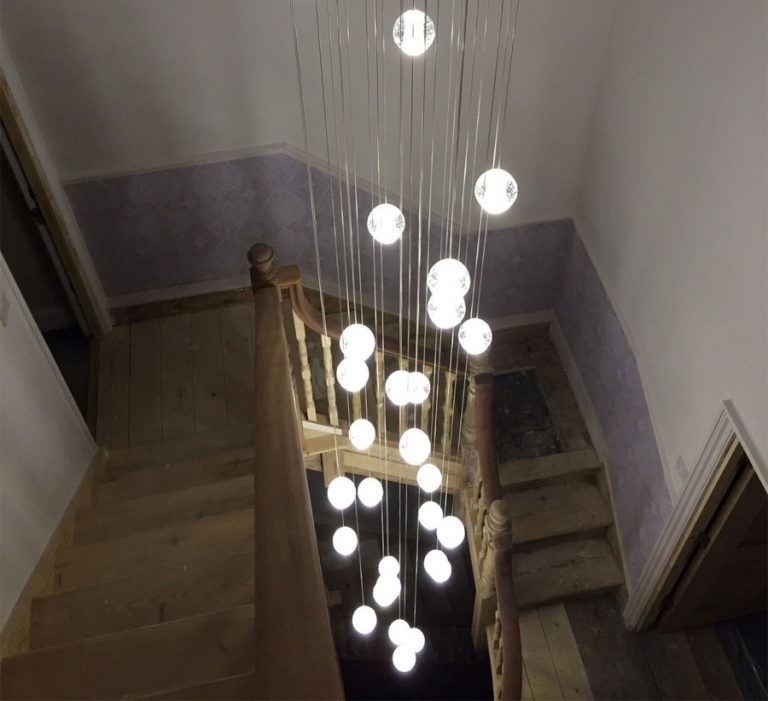 Most Popular Stairway Chandelier With Stairway Chandelier (View 5 of 10)
