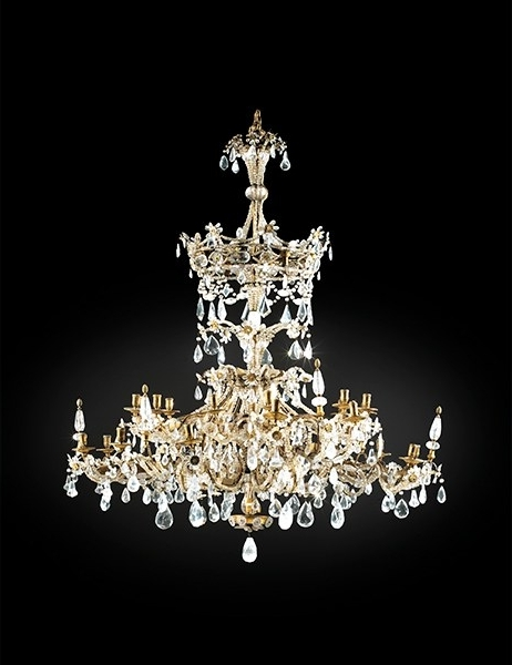 Most Popular The Most Expensive Antique Chandeliers Sold At Auction Photos In Expensive Chandeliers (View 9 of 10)