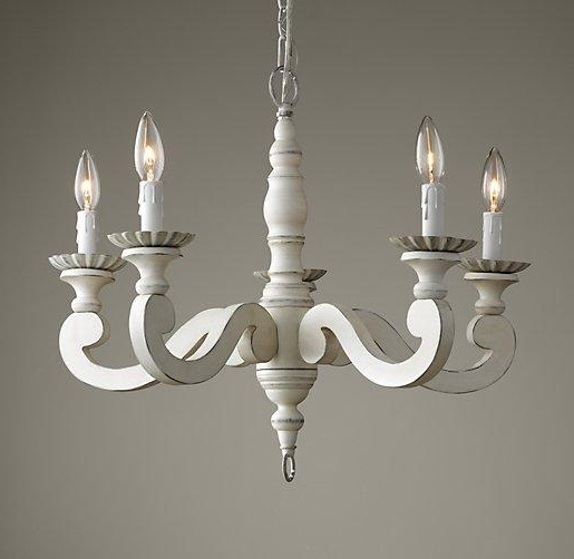 Most Popular White Chandelier Intended For White Chandeliers (View 3 of 10)