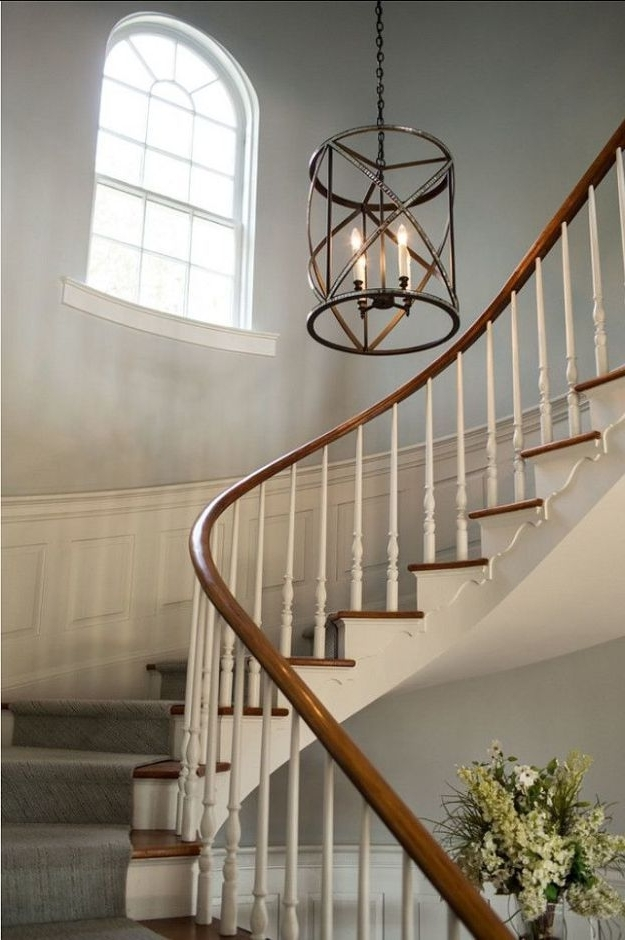 Most Recent 17 Best Ideas About Foyer Chandelier On Pinterest Entryway Regarding Stairway Chandeliers (View 3 of 10)