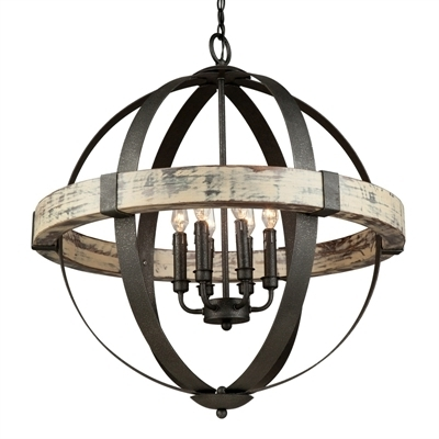 Most Recent Artcraft Lighting Ac10016 Castello 6 Light Sphere Chandelier Pertaining To Sphere Chandelier (View 4 of 10)
