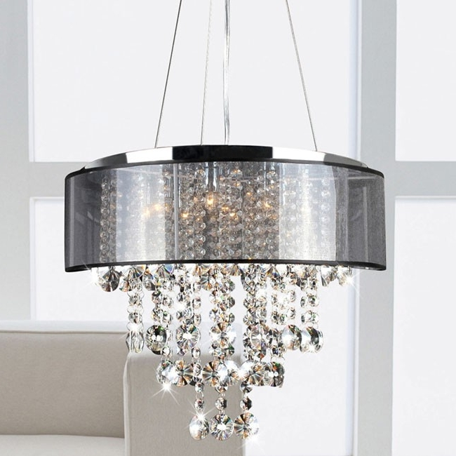 Most Recent Black Chandeliers With Shades Within Affordable Crystal Chandelier – Modern Chandelier,crystal For (View 6 of 10)