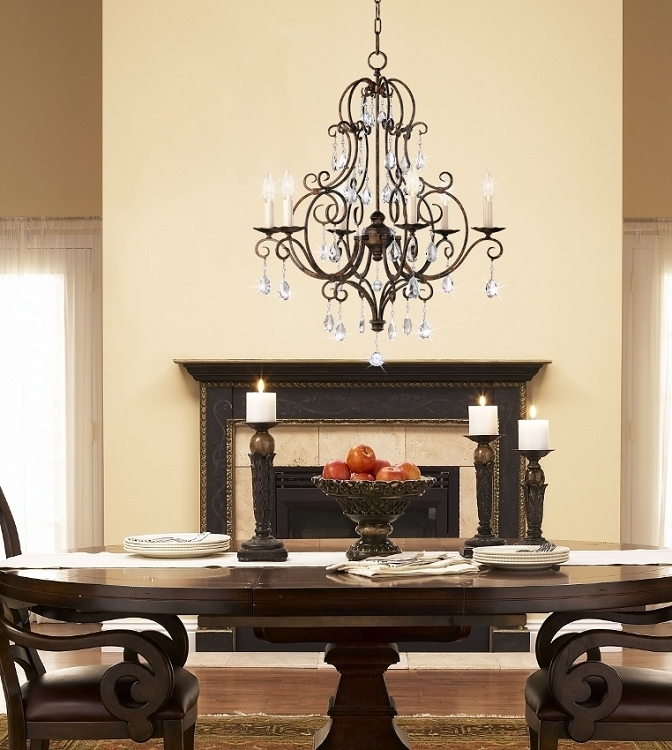 Most Recent Chandelier: Inspiring Murray Feiss Chandeliers Kichler Lighting Throughout Feiss Chandeliers (View 9 of 10)