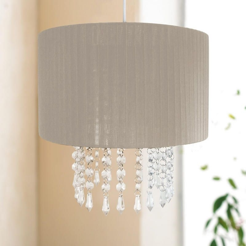 Most Recent Chandelier Light Shades With Easy Fit Chandelier Light Lamp Shade Fitting With Acrylic Crystal (View 10 of 10)