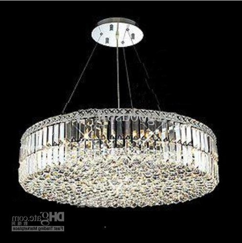 Most Recent Contemporary Crystal Chandelier/k9 Crystal Pendant Lamp/ Modern With Crystal Chandeliers (View 6 of 10)