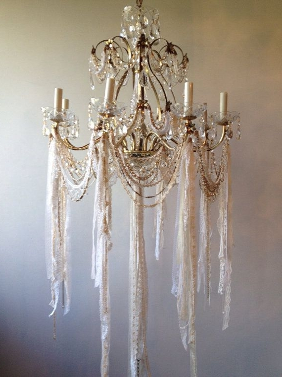 Most Recent Country Chic Chandelier Throughout Chandelier (View 3 of 10)