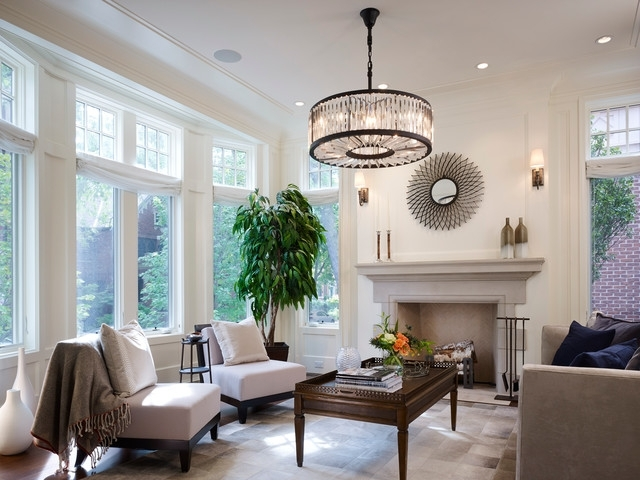Most Recent Living Room Chandeliers For Lincoln Park – Fremont – Traditional – Living Room – Chicago – (View 9 of 10)