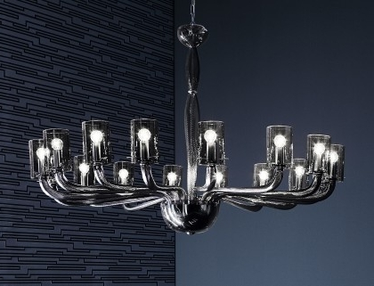 Most Recent Modern Chandeliers – Murano Lighting Pertaining To Modern Glass Chandeliers (View 9 of 10)