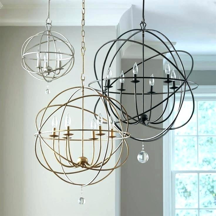 Most Recent Orb Chandeliers Regarding Iron Orb Chandelier – Futuresharp (View 3 of 10)