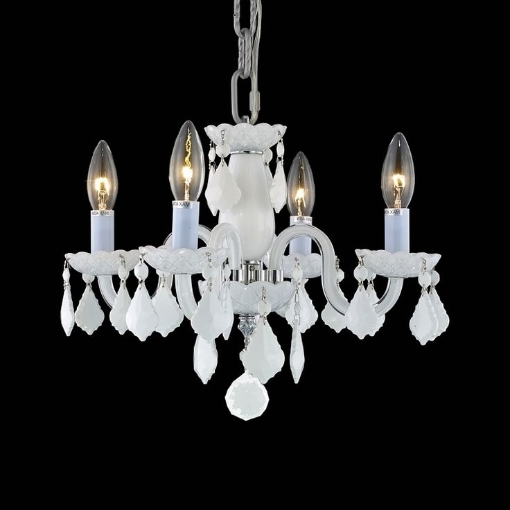 Most Recent Small White Chandeliers In Small White Chandelier (View 5 of 10)