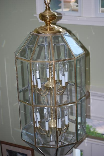 Most Recently Released Brass And Glass Chandelier For Glass And Brass: Is Your Home Stuck In The 90's? (View 10 of 10)