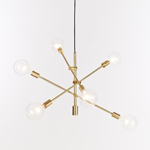 Most Recently Released Gold Modern Chandelier In Nordic Round Glass Ball Ceiling Hanging Chandelier Light Lamp Gold (View 8 of 10)