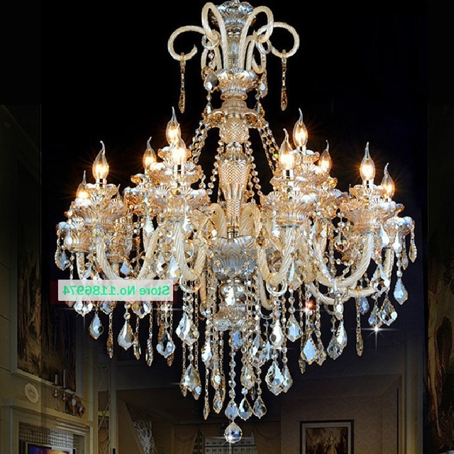 Most Recently Released Hanging Candelabra Chandeliers In Led Lamps Modern Crystal Chandelier Lighting Furniture Big (View 7 of 10)
