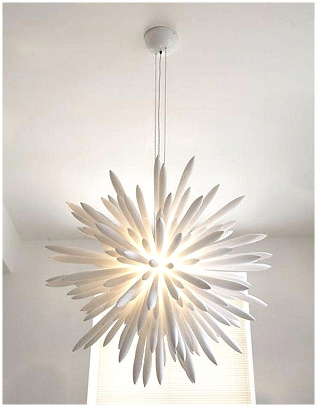 Most Recently Released Modern White Chandelier Pertaining To White Modern Chandelier (View 7 of 10)