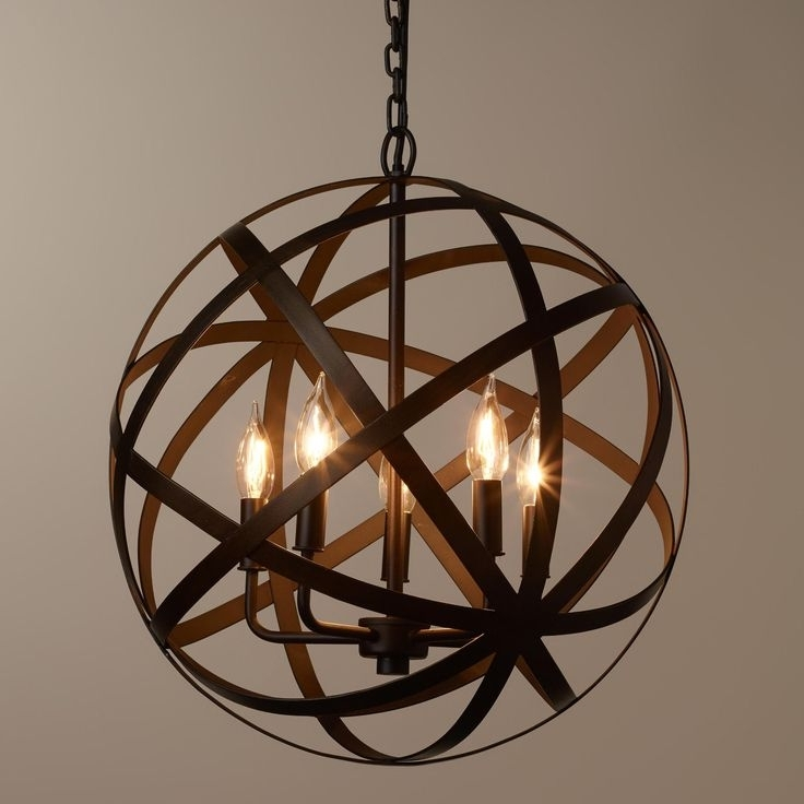 Most Recently Released Orb Chandeliers Best 25 Orb Chandelier Ideas On Pinterest Wayfair Intended For Wayfair Chandeliers (View 5 of 10)